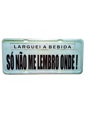 PLACA DECORATIVA FRASES 816-4