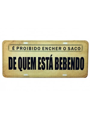 PLACA DECORATIVA FRASES 816-12