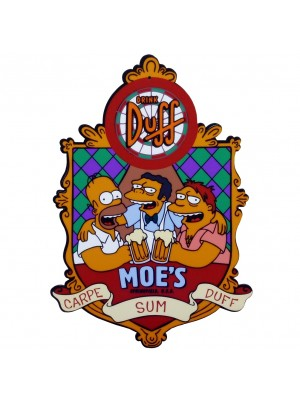 PLACA DECORATIVA BAR DO MOE'S 7741-60