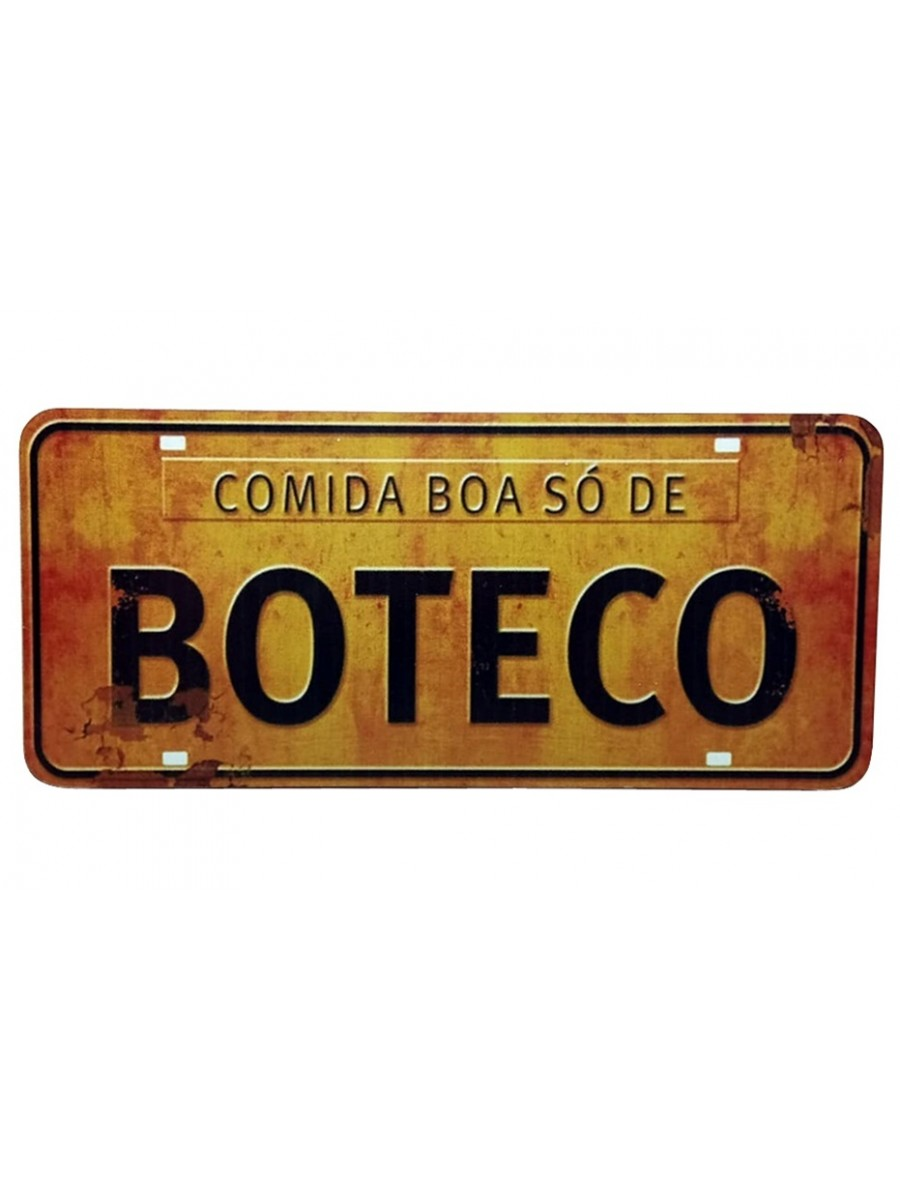 PLACA DECORATIVA FRASES 816-7