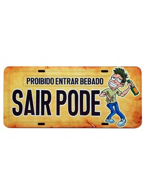 PLACA DECORATIVA FRASES 816-9