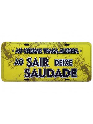 PLACA DECORATIVA FRASES 816-10